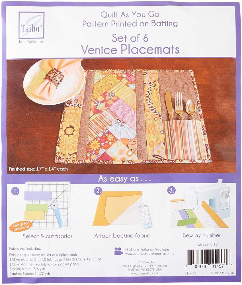 Quilt As You Go - Venice Placemats