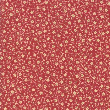 Moda Le Beau Papillon Rouge Fabric 13865 12