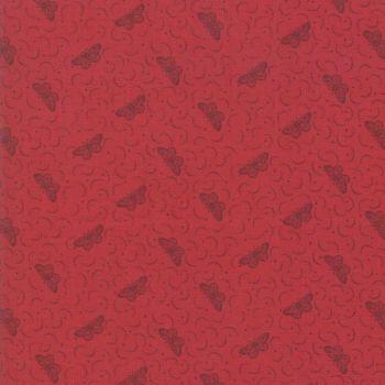 Moda Le Beau Papillon Rouge Fabric 13868 11