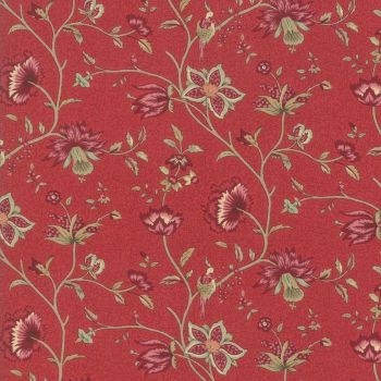 Moda Le Beau Papillon Rouge Fabric 13861 11