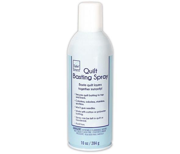 Quilt Basting Spray