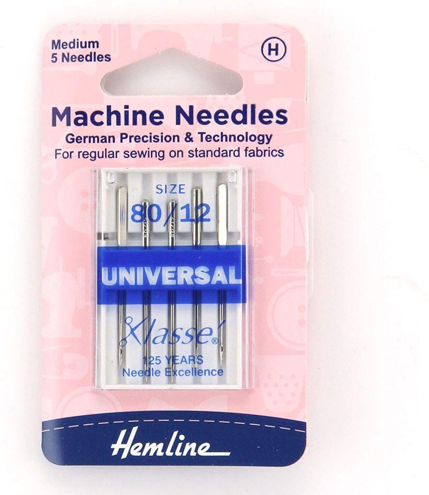 Hemline Machine Needles Universal Size - 90/14