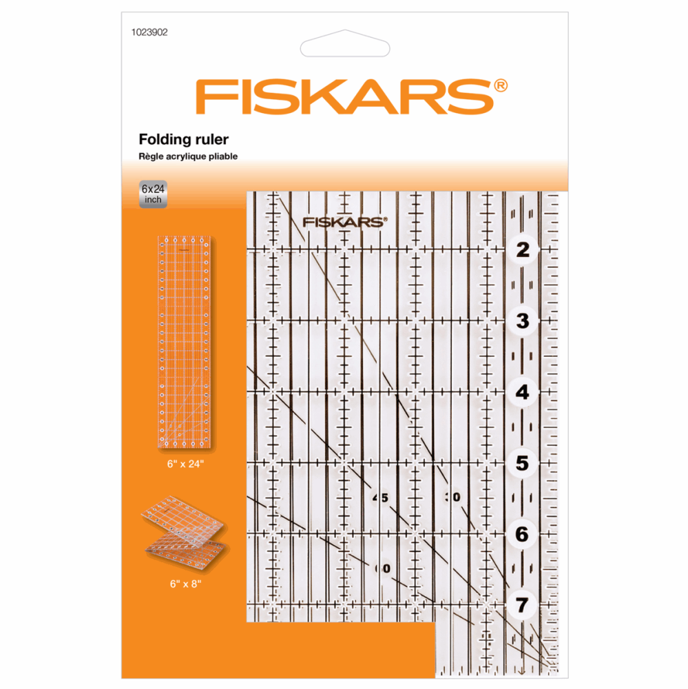 Fiskars - Folding Ruler - 6x24 inch