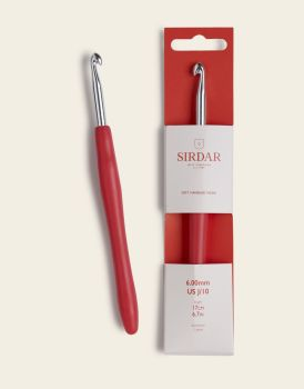 Sirdar Soft Handed Crochet Hook 17cm/6.00mm