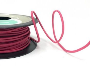 Safisa 2.4mm Fuchsia Thick Cord Elastic