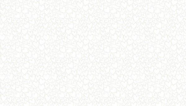 Makower 1909/W1 Heart White on White