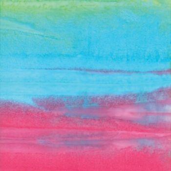 Moda - Santorini Batiks - Rainbow  stripes 4355 20
