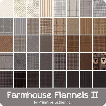 Farmhouse Flannels  II - Moda - Charm Pack