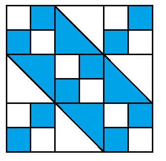 Jacob's Ladder Block Pattern