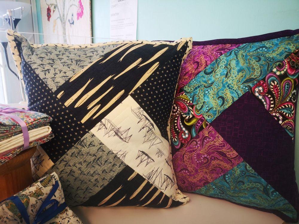 Quilt As You Go - Pillows