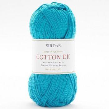 Sirdar - Cotton DK - 100g - 515 Bluebird