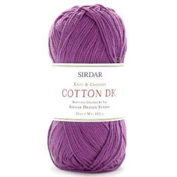 Sirdar - Cotton DK - 100g - 512 Violet