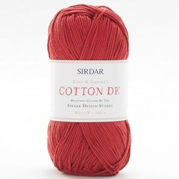 Sirdar - Cotton DK - 100g - 539 Terracotta