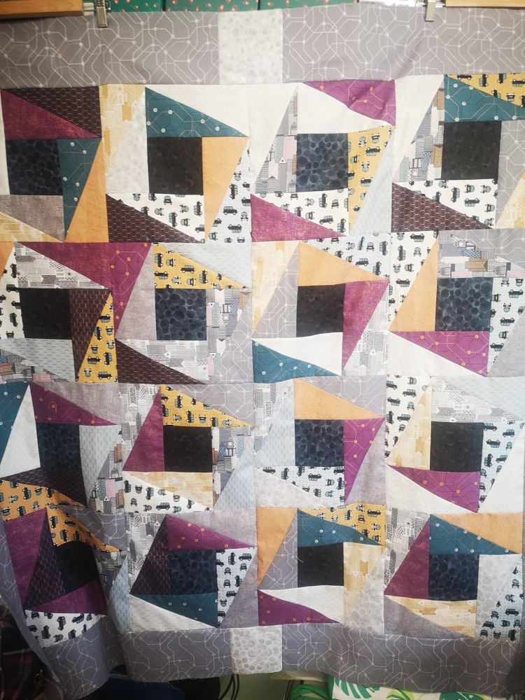 The HRT ( half rectangle triangle) Quilt Pattern