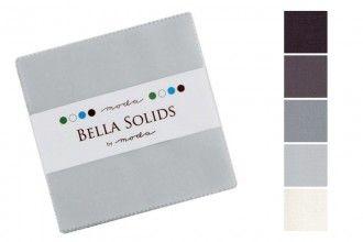 Moda Bella Solids Charm Pack - modern neutrals MCS9900 902