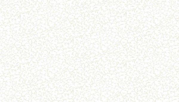 Makower 760/W1 Scroll White on White