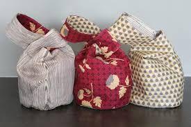 Japanese Knot Bag template
