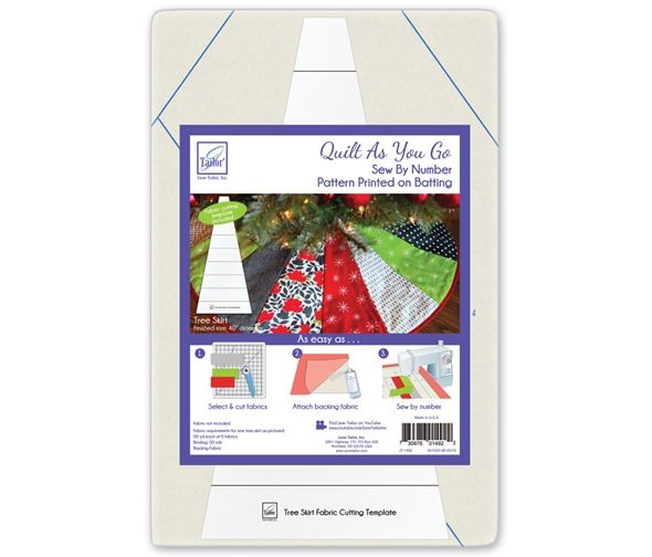 June Tailor Quilt As You Go Christmas Tree Skirt