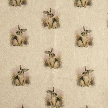 Rabbit Linen Fabric