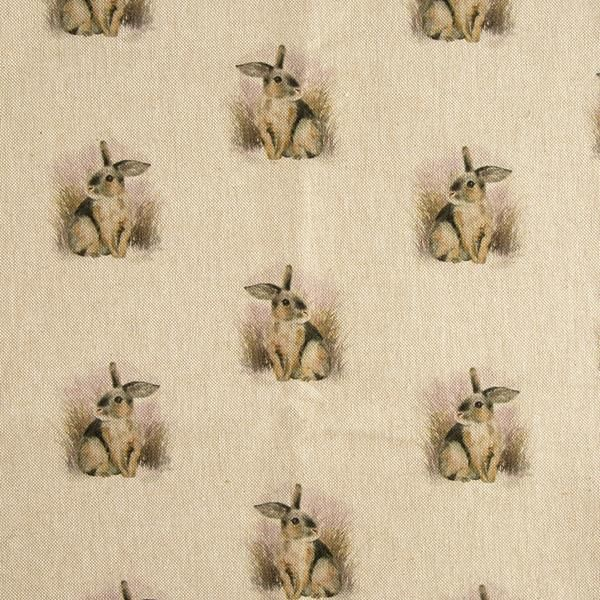 Rabbit Linen Fabric