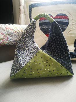 Lined Bento Bag Pattern - digital download