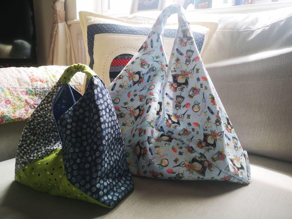 Lined Bento Bag Kit