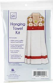 Quilt As You Go - Hanging Towel Kit