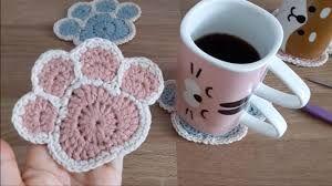 Crochet Paw Print Pattern