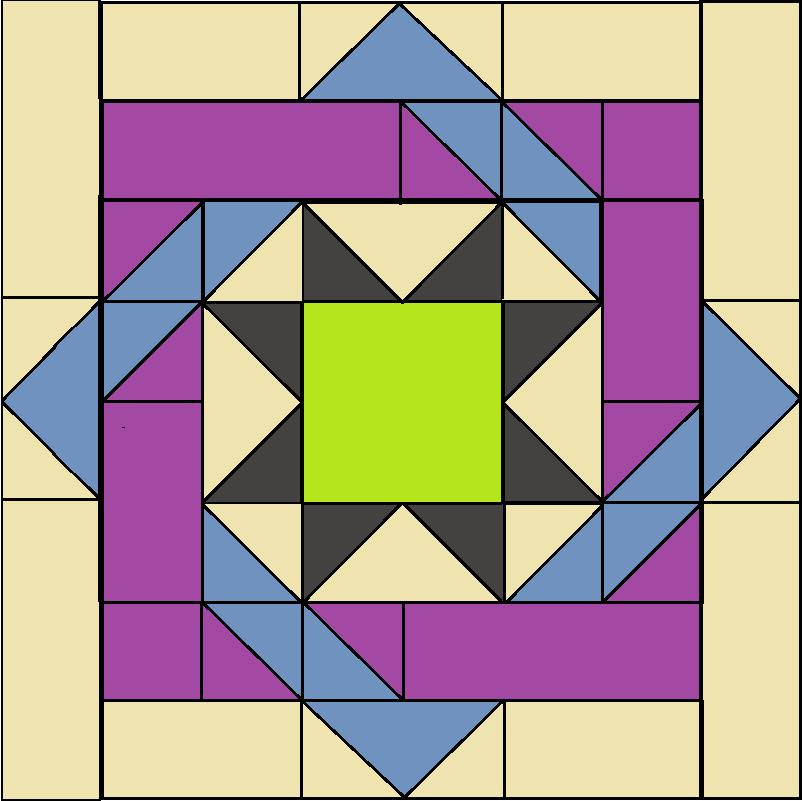 Labyrinth Block pattern