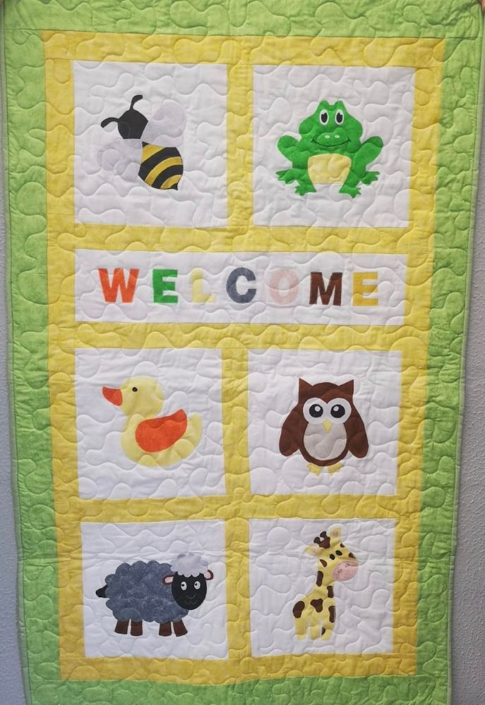Baby Applique Quilt Kits