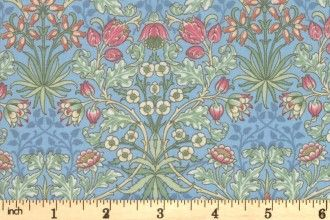 Best of Morris Spring by Moda - Hyacinth Wedgewood