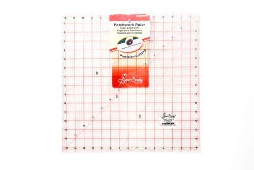 Sew Easy - Lasercut - Patchwork ruler - 15.5 inch x 15.5inch