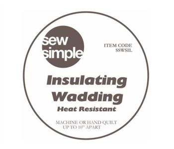 Sew Simple Insulating Heat Resistant Wadding