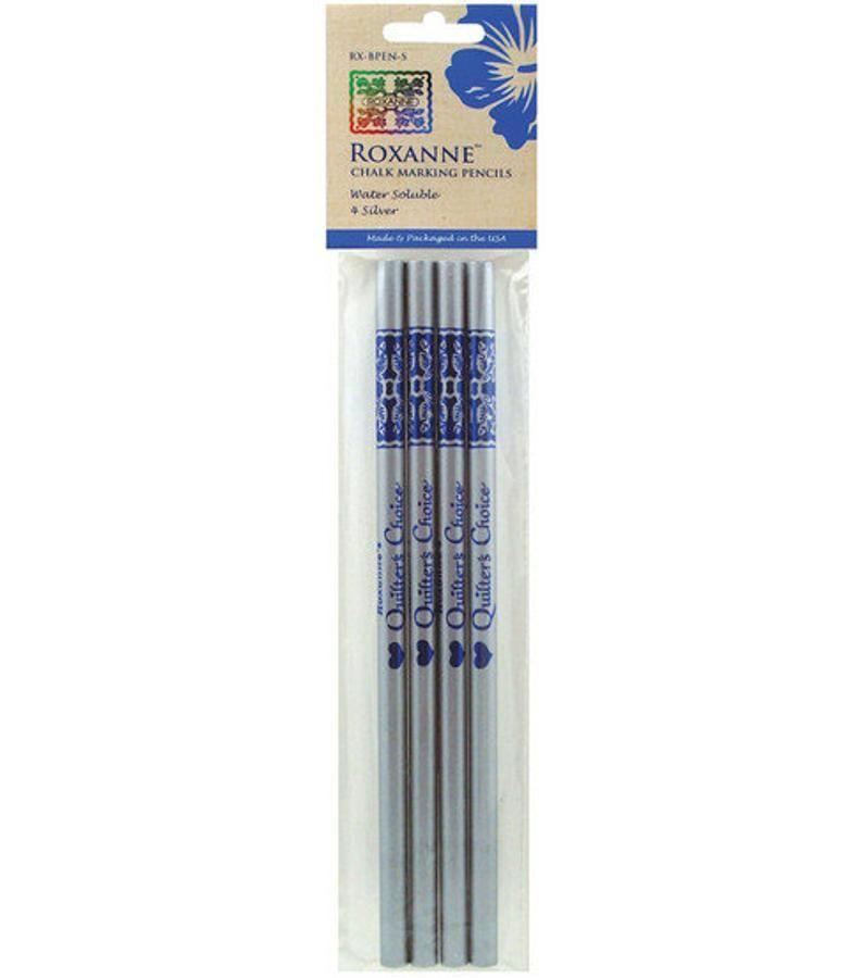 Roxanne Chalk Marking Pencils - silver