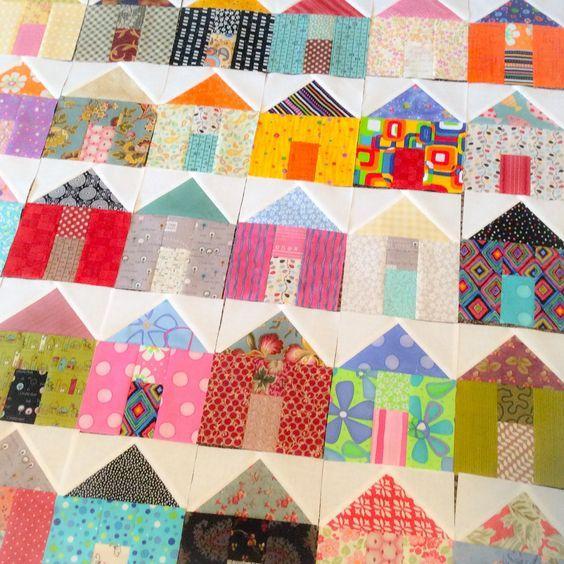 'Up My Street' Block Pattern