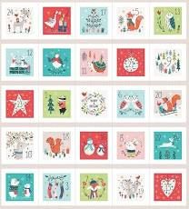 Dashwood Studio - Forest Friends - Advent Calendar With Metallic - 60cm Panel
