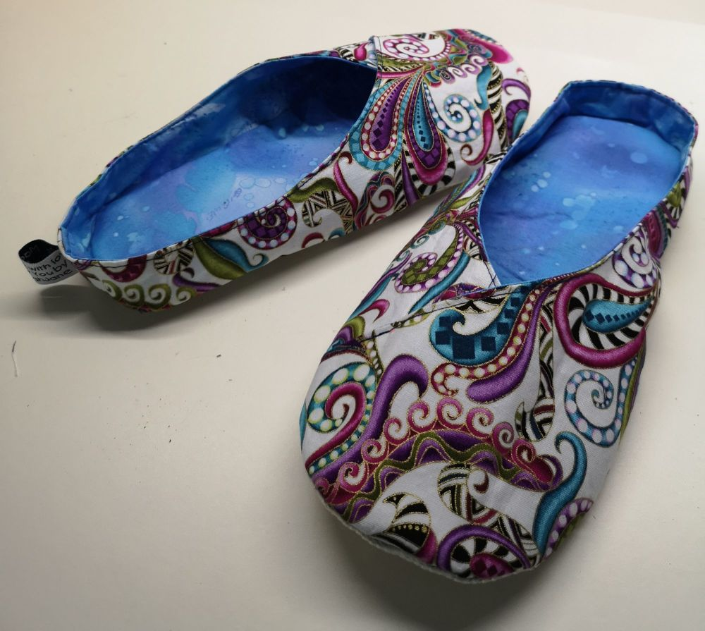Juliette Slippers Pattern and Template