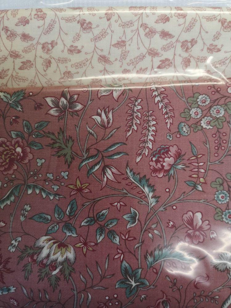 Juliette Slippers Kit -  Pattern, Template and fabrics - Regency Romance