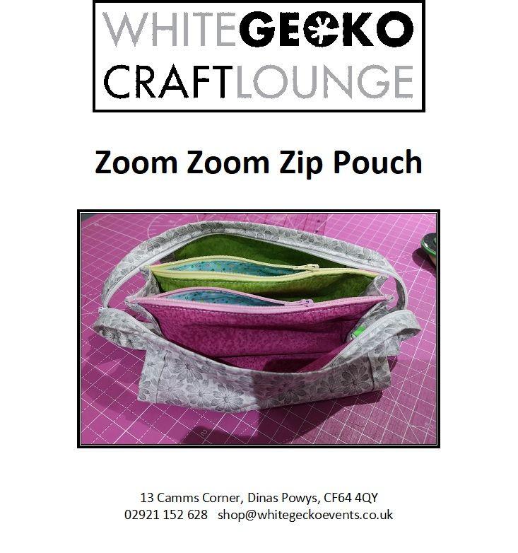 Zoom Zoom Zip Bag
