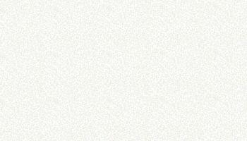 Makower 764/W1 Leaf White on White