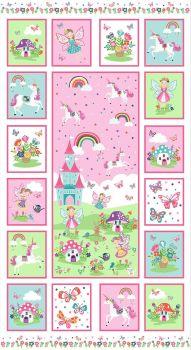 Daydream Panel - unicorns & fairies