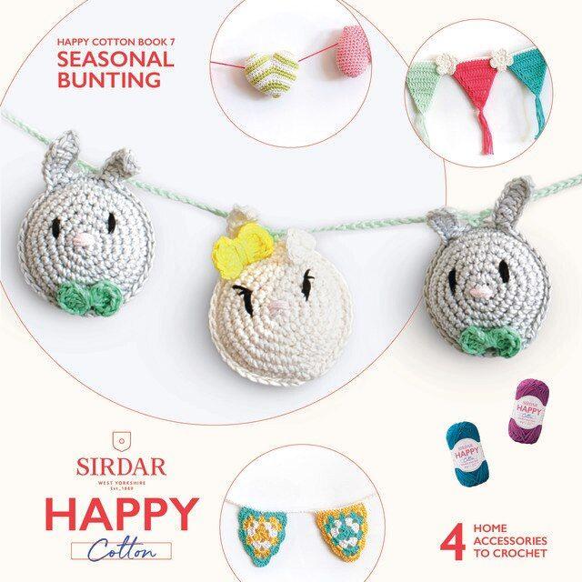 Happy Cotton Book 7-  Seasonal Bunting