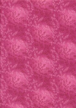 """Sew Simple Tonal Vineyard - Extra Wide 108"""" - Raspberry Pink sold in 0.5m units"""