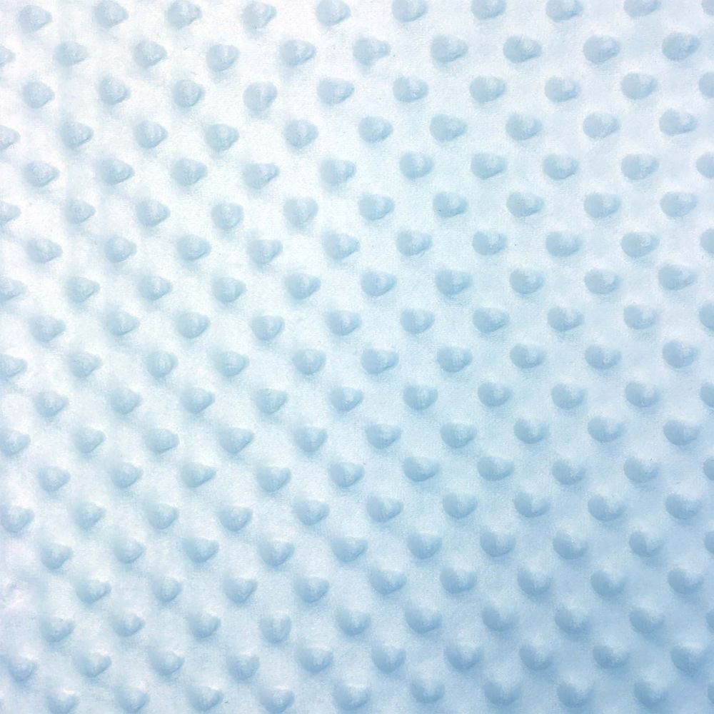 Soft Dimple Fleece - Minky - Blue