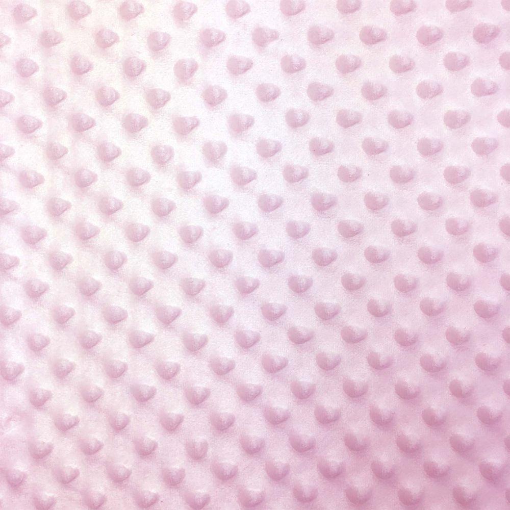 Soft Dimple Fleece - Minky - pink