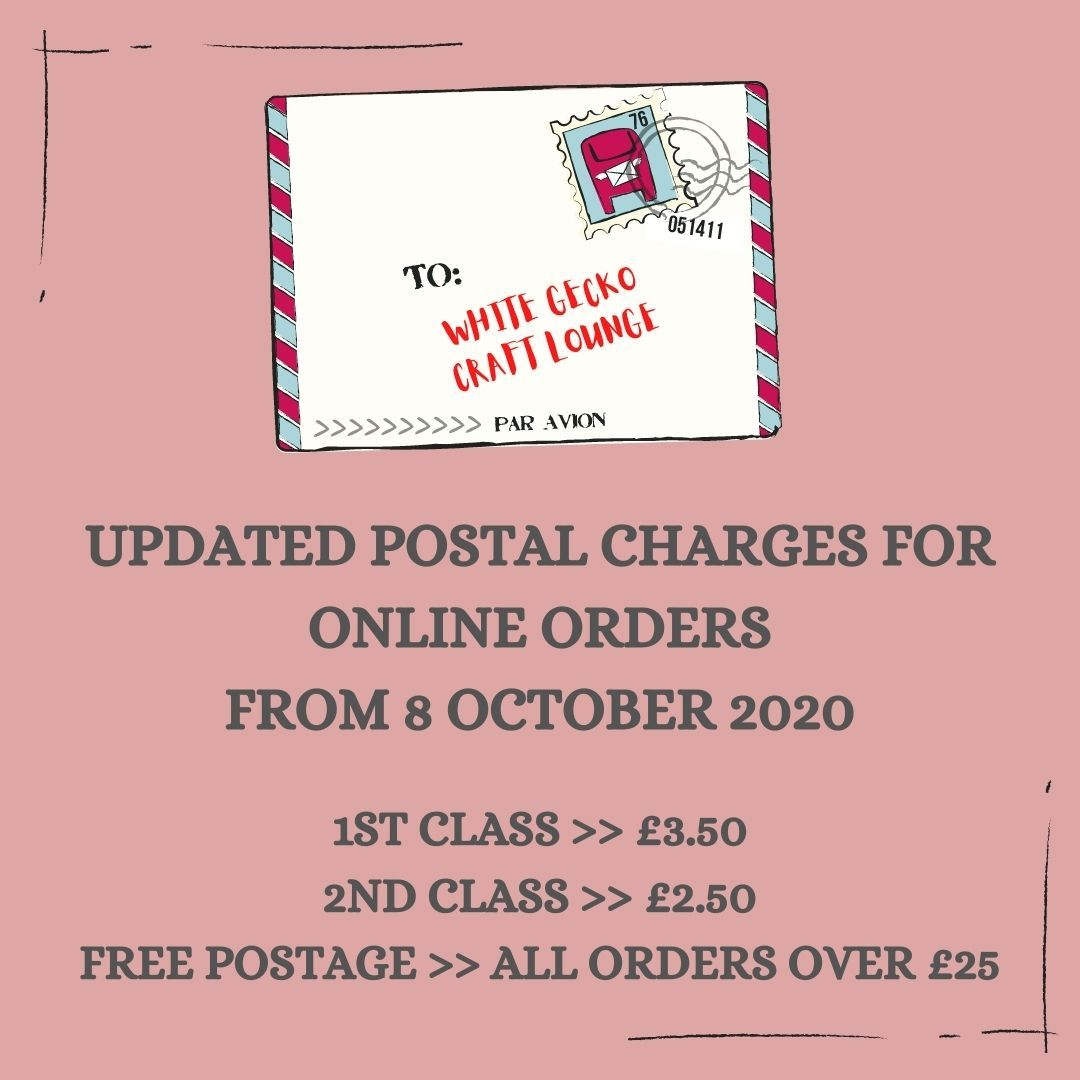 UPDATED POSTAL CHARGES
