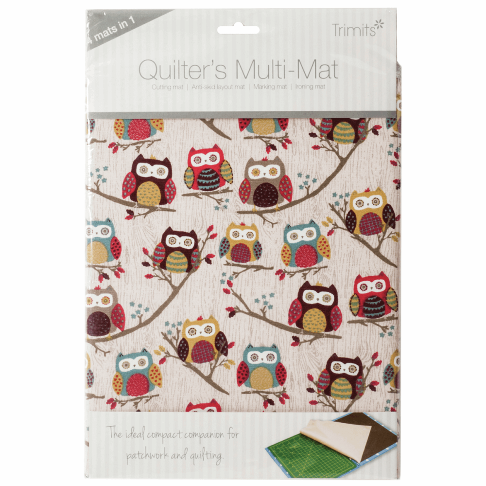 Quilters Multi-Mat: A4 (30 x 24cm): Sewing Notions - Owl