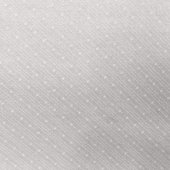 Moda Muslin Mates white on white stripes with dot