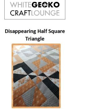 Disappearing Half Square Triangle Pattern