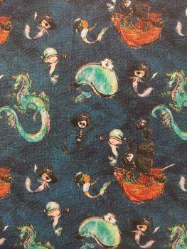 Merboys, Dragon, Pirates - Merboys, pirates, whales, ships